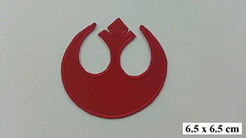 Embird - Toppa ricamata, da applicare con ferro da stiro o cucire, Alleanza Ribelle, Star Wars