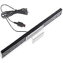 Boladge Wired Infrarot Strahl Induktivität Motion Sensor Bar Mit Transparentem Stand für Wii & Wii U Konsole