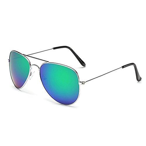 Sonnenbrille Fliegerbrille Brille in vielen Farbkombinationen Klassische Pilotenbrille Verspiegelt...