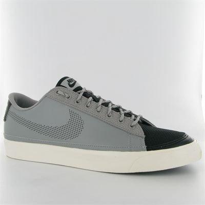 Nike Blazer low 371760014, Baskets Mode Homme Gris et noir