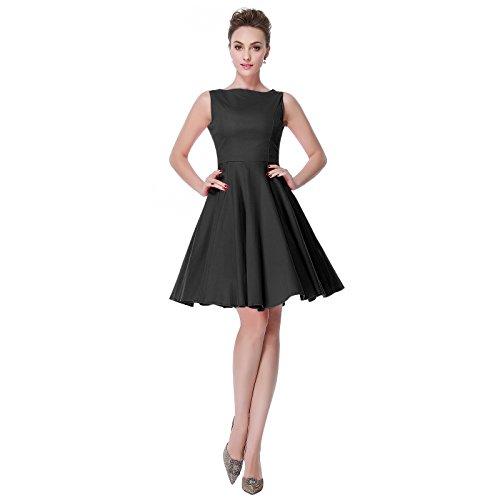 Heroecol-Womens-50s-60s-Hepburn-Style-Vintage-Retro-Rockabilly-Swing-Dress