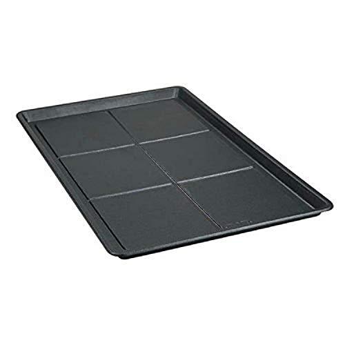 Pro Select Bodenwannen - langlebige leicht zu reinigende Kunststoffwanne für langlebige Kisten - XS, 45,7 x 30,5 cm, schwarz