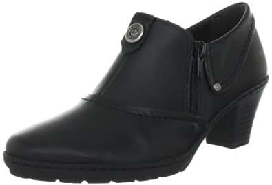Rieker 57151, Damen Slipper, Schwarz (schwarz 00), EU 36