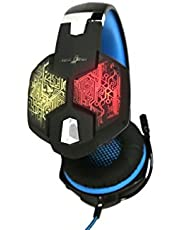 Redgear Hell Scream Professional Gaming Headphones with 7 RGB LED Colors and Vibrations(PC)