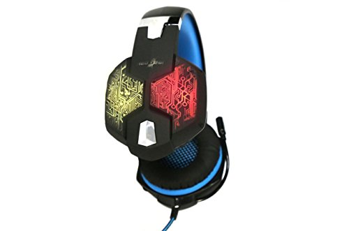 Redgear Hell Scream Professional Gaming Headphones with 7 RGB LED Colors and Vibrations