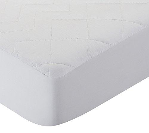 Pikolin Home - Protector de colchón acolchado cubre colchón, antialérgico, antiácaros, antibacterias y antimoho, impermeable y transpirable, 90 x 190/200 cm, cama 90 (Todas las medidas)