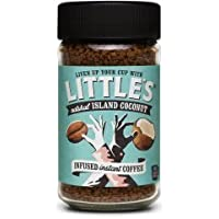 Little's Natural Island Coconut flavour instant coffee.50g Arabica coffee