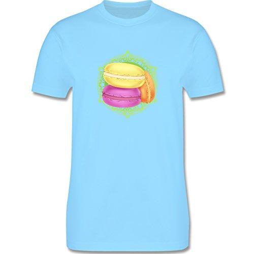 Statement Shirts - Macaroon - Herren Premium T-Shirt Hellblau