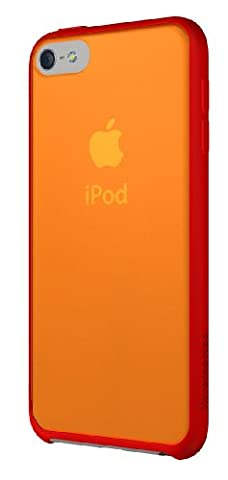 XtremeMac IPT-MAN-73 Microshield Accent Schutzhülle für Apple iPod Touch 5G rot/orange