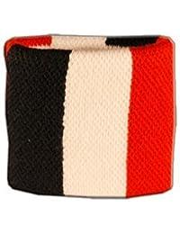 Digni® Poignet éponge avec drapeau France - Pack de 2 pièces