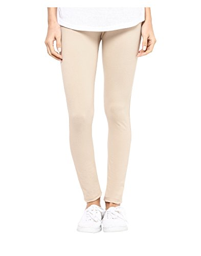 Yepme Women's Beige Cotton Leggings - YPWLGGN5158_XL  available at amazon for Rs.179