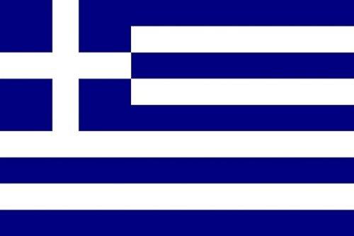 Qualitäts Fahne Flagge Griechenland 90 x 150 cm mit verstärktem Hissband