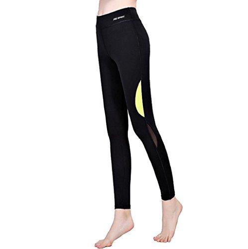 pantalón chandal mujer Sannysis yoga pantalón mujer runing (001, L/XL)