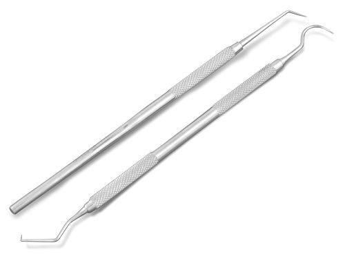 Zahnreinigung Zwischenräume Set Zahnreiniger Zahnsteinentferner 2-Teilig
