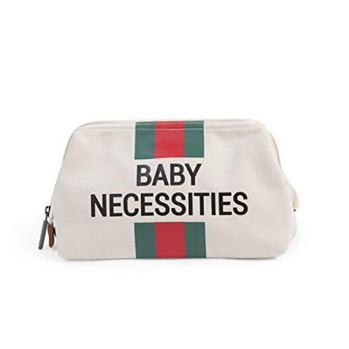 Childhome - Kinder Baby Accessoire moderne Windeltasche Wickeltasche Babytasche mit Baby Necessities, 23x33x3cm, Babys Clutch, perfekt für das alltägliche Wohl des neugeborenen Babys, Elfenbein (Wickeltasche Baby-jungen Stilvolle)