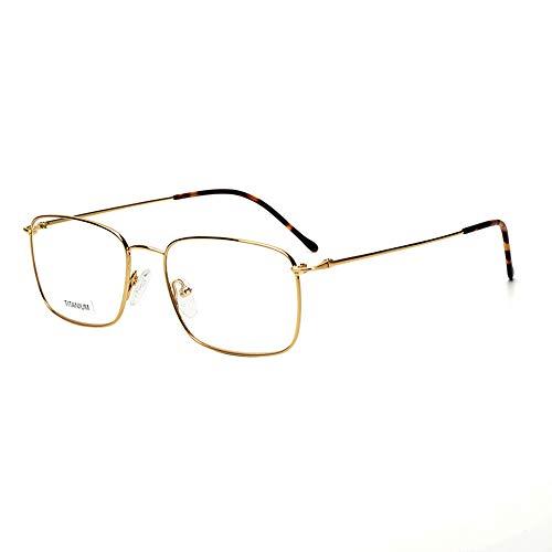 Reading glasses Anti-Blaue Lesebrille, Ultraleichte Tragbare Hd-Anti-Strahlungs-Anti-ErmüDungs-Titanlegierungs-Vollformat-Flachbrille, Freizeit-Brille FüR MäNner Und Frauen Im Freien