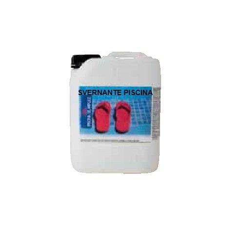 Lapi - 5 Kg Svernante Per Piscina Liquido. Permette Il Mantenimeto Corretto Dell'Acqua Durante Il Periodo Di Non Utilizzo. made in Italy