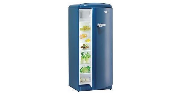 Kühlschrank Nostalgie : Gorenje kühlschrank rb ob nostalgie blau amazon elektro