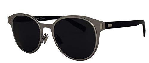 Christian Dior - DIOR DEPTH 01, Rund, Metall, Herrenbrillen, RUTHENIUM HAVANA/BLUE(HS4/9A), 52/19/150