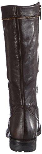 Marc Shoes Massa, Bottes à tige haute et doublure intérieure femme Marron - Braun (T.D.Moro 490)