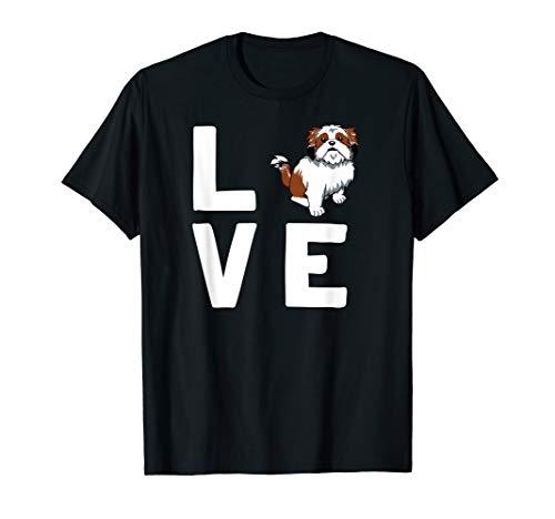 Shi Tzu Hunderasse Süßes Hunde T-Shirt Für Hundefreunde  -