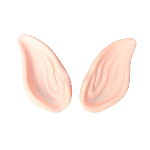 MMRM Halloween-Kostüm Elf Ears Latex-Fälschungs-Ohr-Partei Cosplay (Genie Kostüme Kinder)