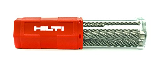 Hilti Original TE-CX 7613023579243 - Juego de 6 brocas M1 SDS Plus, 5 a 12 mm, para hormigón