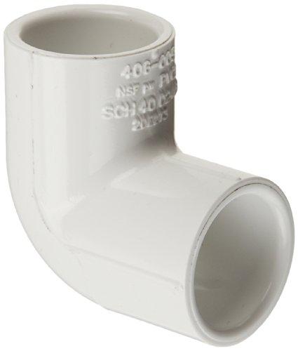 Spears PVC-Rohr Fitting, 90Degree Elbow, Schedule 40, weiß, Sockel, 1-1/4