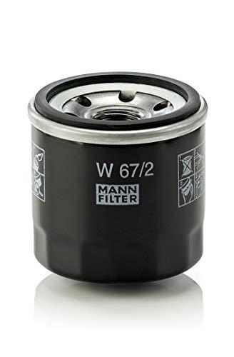 MANN-FILTER W67/2 Originale Filtro Olio, per Automobili e Veicoli Comm