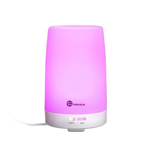 TaoTronics Aroma Diffuser 100ml Öl Diffusor aroma-diffuser mit Kaltnebel Aromatherapie ätherisches Luftbefeuchter Humidifier mit 7 LED Farbwechsel