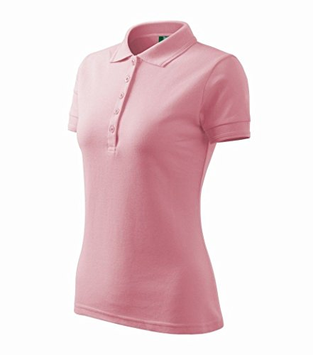 87b716225020cb Dress-O-Mat Damen Poloshirt T-Shirt Polohemd Tailliert Gr 40 L rosa