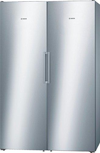 Bosch KSV36VL30 Serie 4 Kühlschrank / Inox-look / A++ / 346 L / Edelstahl / Super-Kühlen / CrisperBox