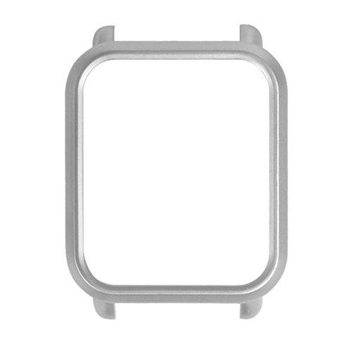 Magiyard PC Case Cover Protect Shell para Xiaomi Huami Amazfit Bip Youth Watch (Plata)