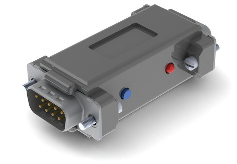 SerialGhost TimeKeeper DB-9 8GB - compact RS-232 and serial bus logger with 8 gigabytes of memory and time-stamping
