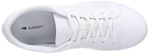 Lacoste Damen Straightset 116 4 Spw Sneakers Weiß (WHITE 001)