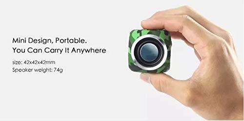 HS-TWYBYX Subwoofer Portable Bluetooth Musique Haut-Parleur Stéréo sans Fil BT Haut-Parleur Étanche Voyage Son (Couleur Aléatoire) 7