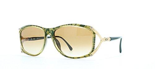 Christian Dior Damen Sonnenbrille Gold Gold Green