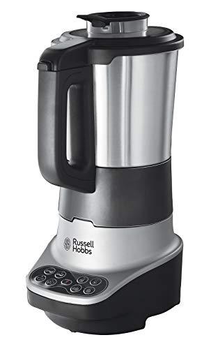 Russell Hobbs - Robot de cocina 2 en 1 Licuadora y Máquina para hacer Sopas, 1200W, Inox, 1,75l, Gris...
