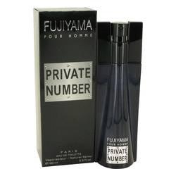 Fujiyama Private Number Eau De Toilette Spray By Succes De Paris -