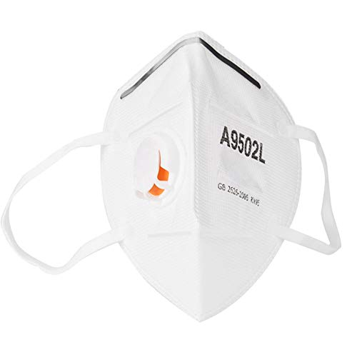 Mezza maschera protettiva antipolvere monouso per contorno orecchie esterno anti-inquinamento maschera di protezione anti-appannamento maschera per maschera boccale per maschera di bellezza