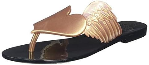 Vivienne Westwood + Melissa Women Harmonic Cherub Flip Flop Sandals,