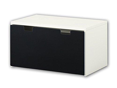 Stikkipix Kreidefolie/Tafelfolie - KF11 - passend für die Kinderzimmer Banktruhe STUVA von IKEA (90 x 50 cm) - Optimal ALS bemalbare Spielzeugkiste und Sitzbank geeignet - Möbel Nicht Inklusive