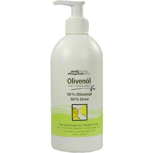 Peau en équilibre Huile d'Olive Derm. Crème pour le corps 10% 500 ml Crème