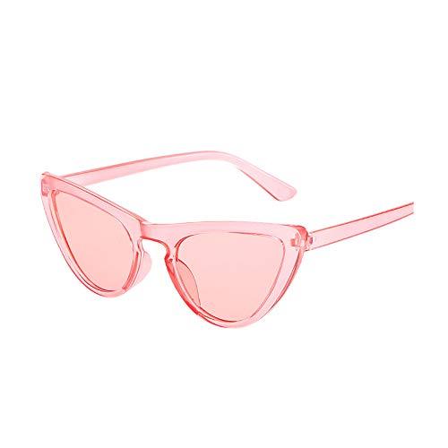 Leey Damen Sonnenbrille Katzenauge Rahmen Mode UV-Schutz Brille Sunglasses UV400 Schutz Outdoor Brille für Autofahren Angeln Freizeit Strand (B)