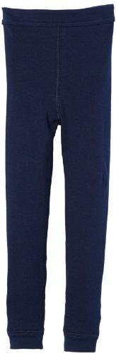 Schiesser Jungen Slip Hose Lang, Gr. 128 (Herstellergröße: 128 (6-7Y)), Blau (803-dunkelblau)