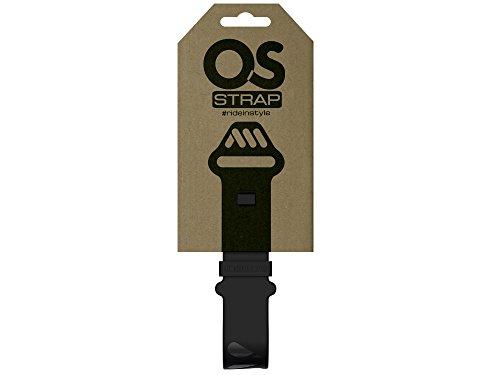 All Mountain Style Correa de Silicona OS para sujetar camara de bicicleta, Negro