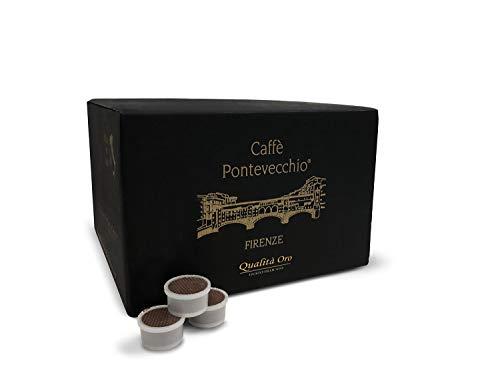 Caffè Pontevecchio Firenze - Kompatible Lavazza Point Kapseln gr.7 - Premium Gold Qualität - Arabica - Zarter Geschmack (Box 50 Kapseln)