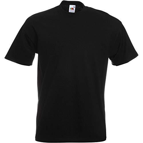 Fruit of the Loom Herren T-Shirt Super Premium T 61-044-0 Black 3XL
