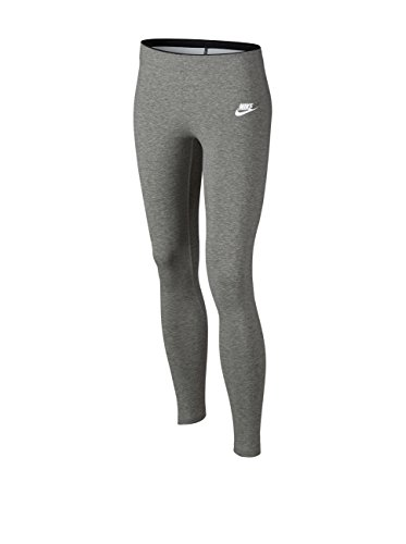 Nike G NSW TGHT Club Legging - Logo - Leggins Grau - XL - Mädchen