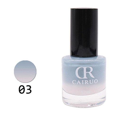 aturkontrolle Farbe ändern Nagellack Gesundheit Nontoxic Nail Oil 26 Farbe (# C) (Baby-zwillinge Halloween)